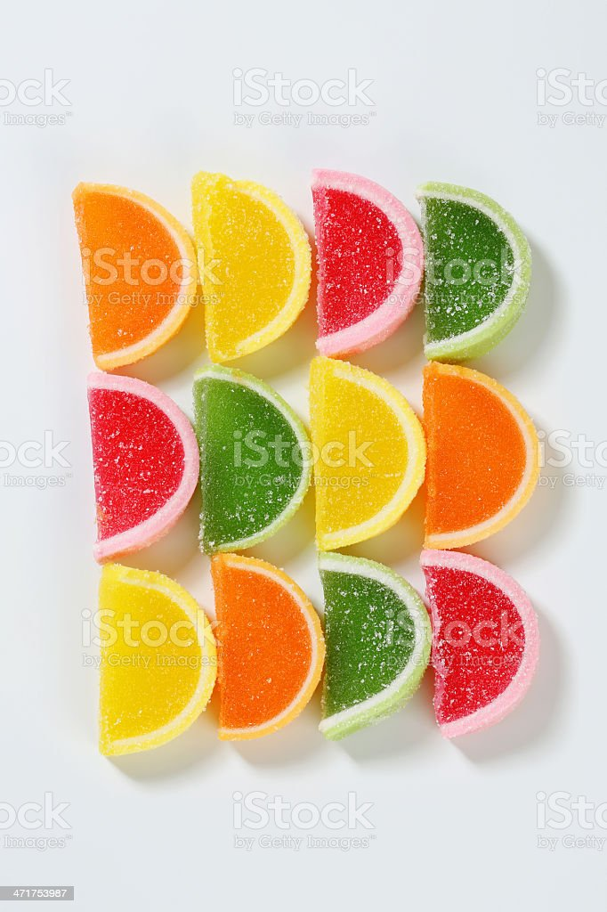 fruit jelly sweets royalty-free stock photo