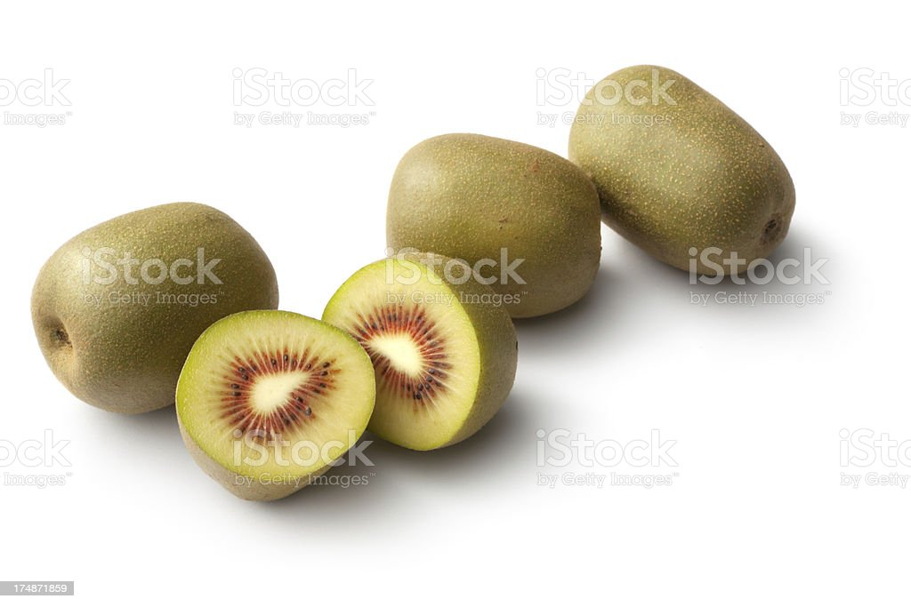 Fruit: Kiwi - Sun Kiwi royalty-free stock photo
