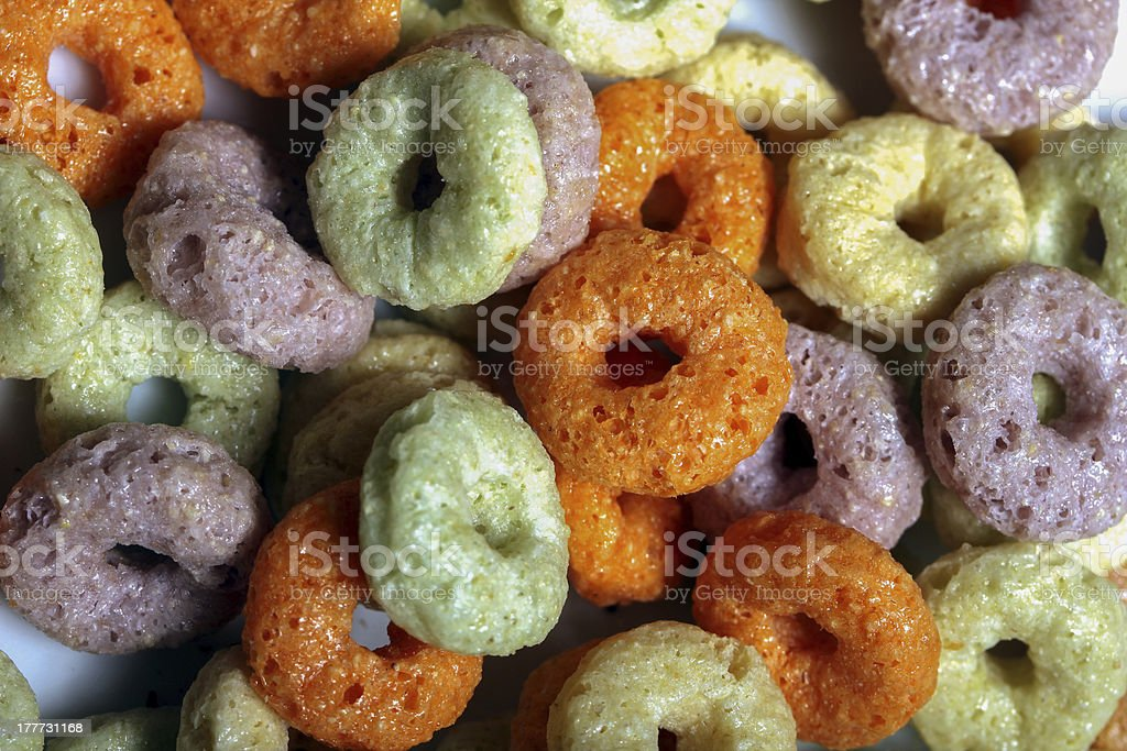 fruit loops royalty-free stock photo