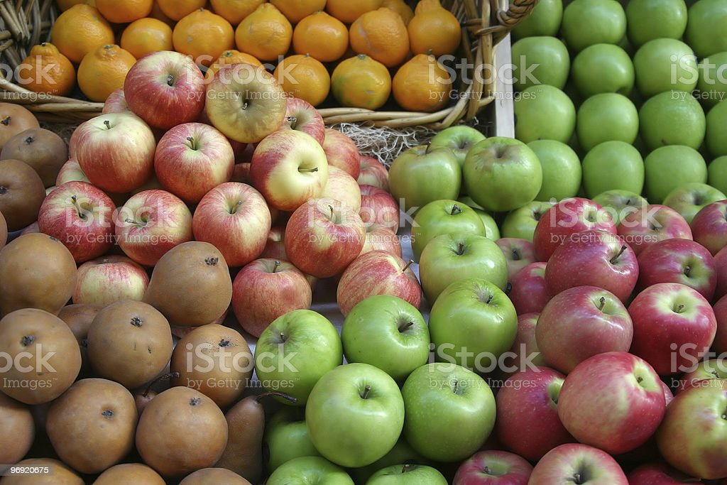 Fruit Market Display #1 royalty-free stock photo