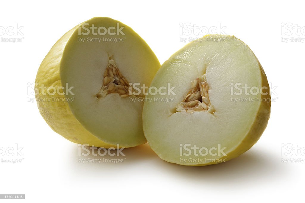Fruit: Melon - Honeydew Melon royalty-free stock photo