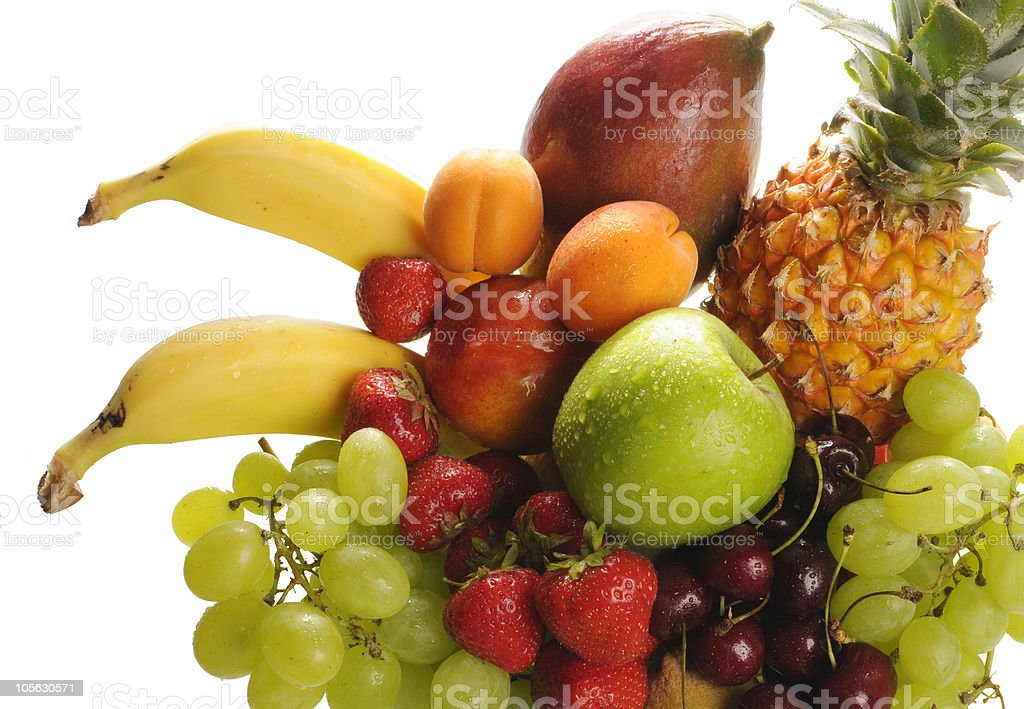 Fruit mix for background royalty-free stock photo