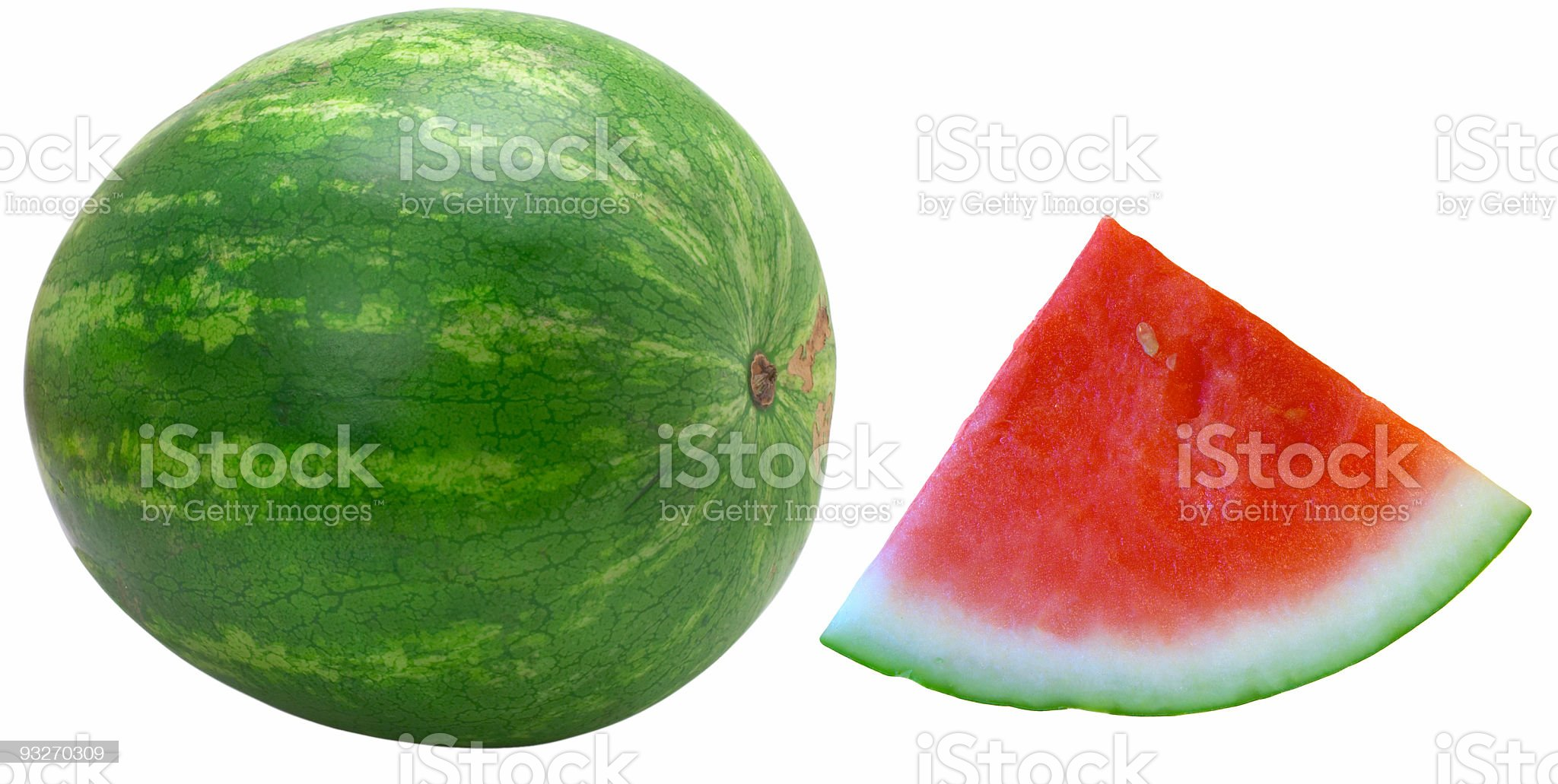 Fruit Objects - Watermelon royalty-free stock photo