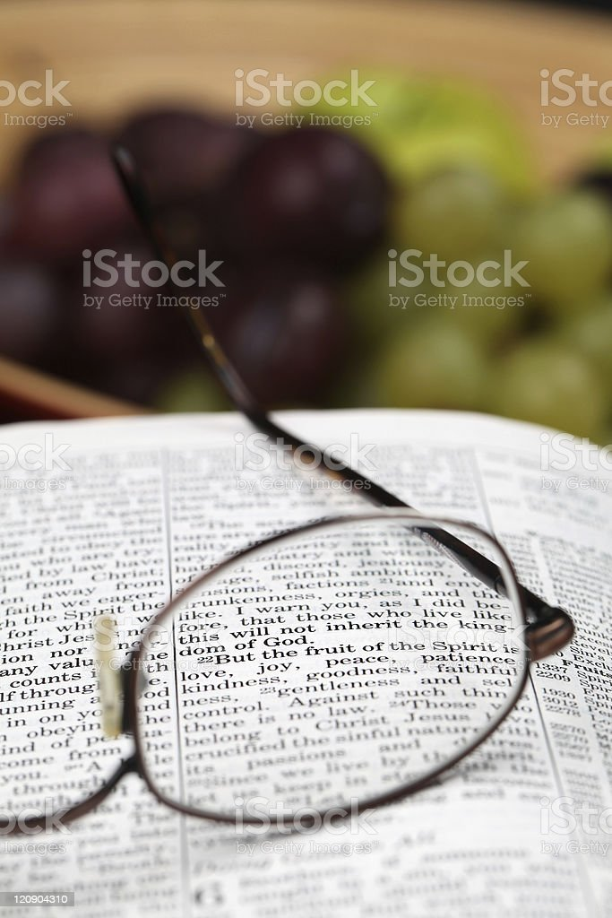Fruit of the spirit stock photo