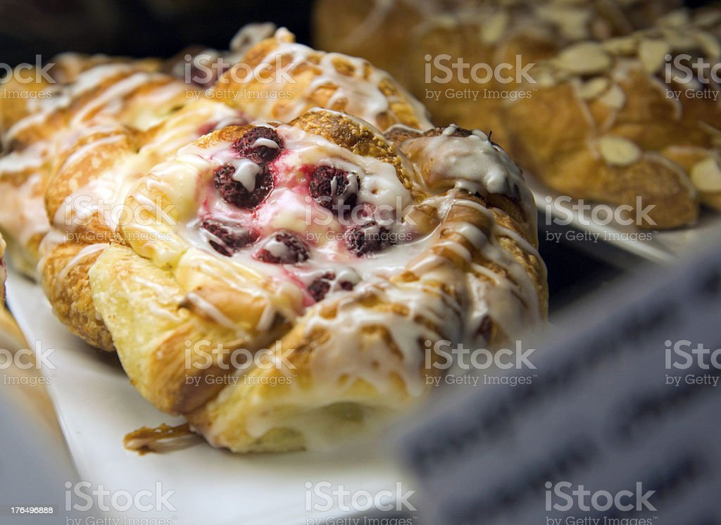 Fruit pastry ready for sale royalty-free stock photo