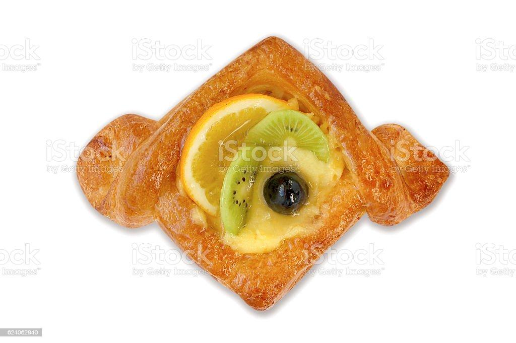 fruit pie stock photo