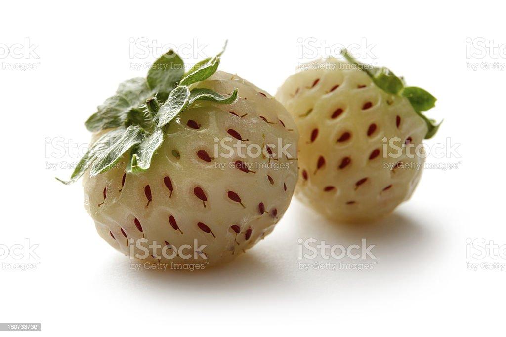 Fruit: Pineberry royalty-free stock photo
