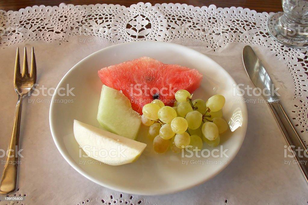 Talerz owoców zbiór zdjęć royalty-free