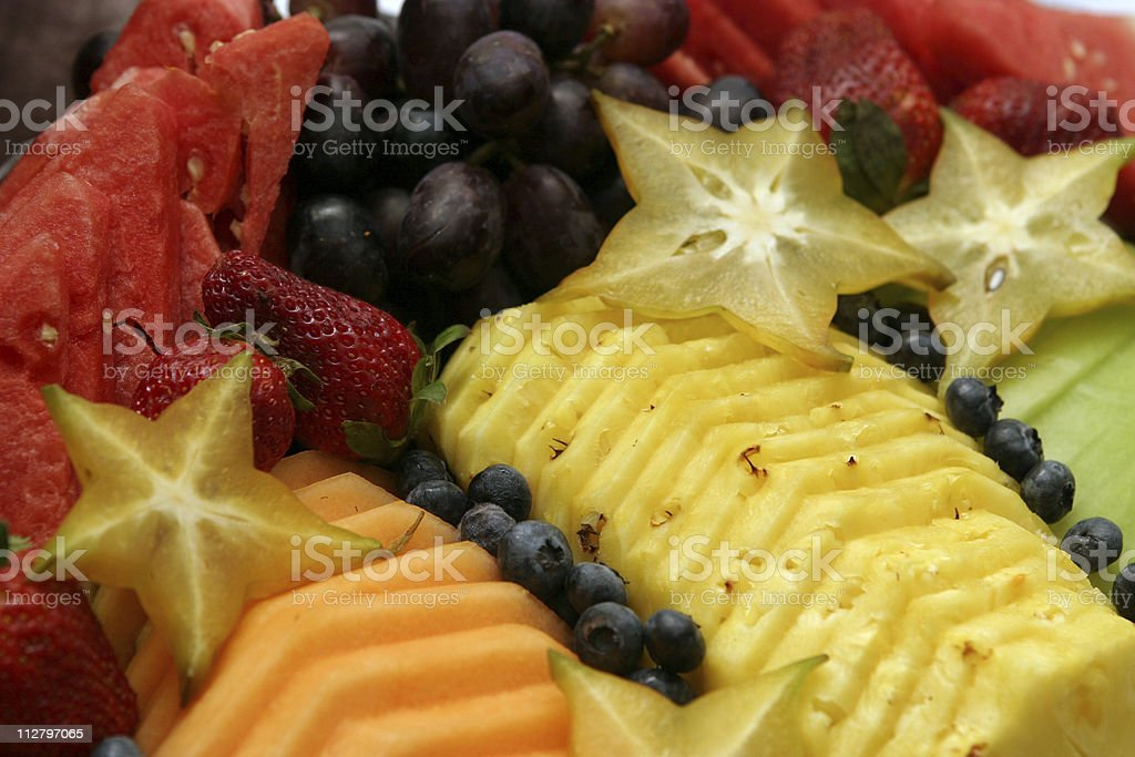 Fruit Platter stock photo