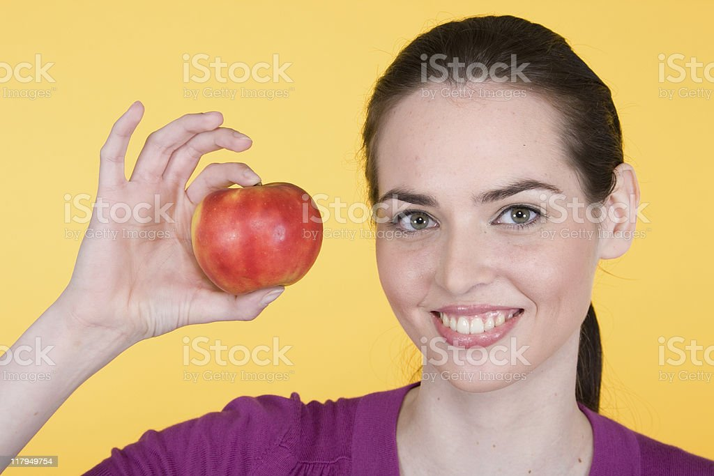 Fruit Portrait Series stock photo