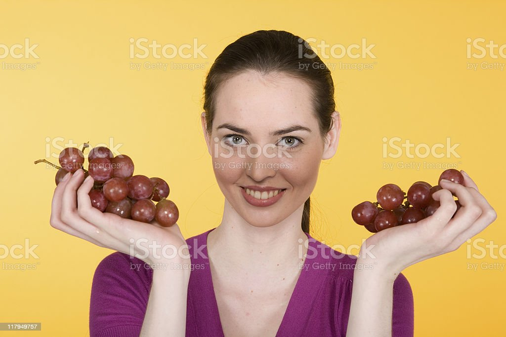 Fruit Portrait Series royalty-free stock photo