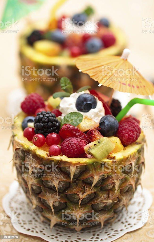 Fruit salad. stock photo