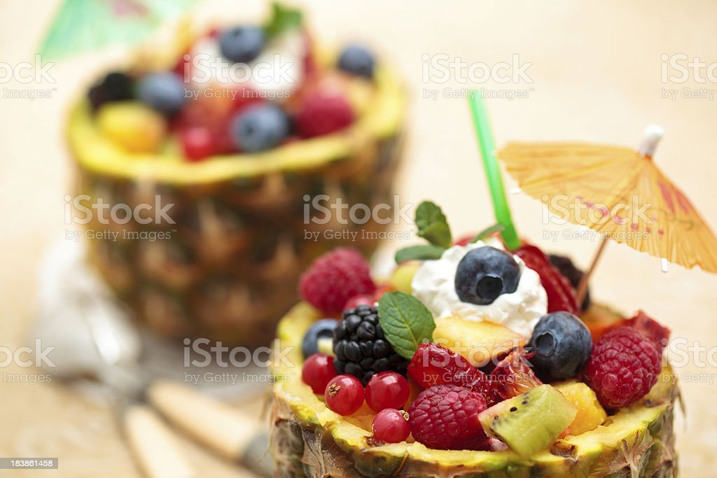 Fruit salad. royalty-free stock photo
