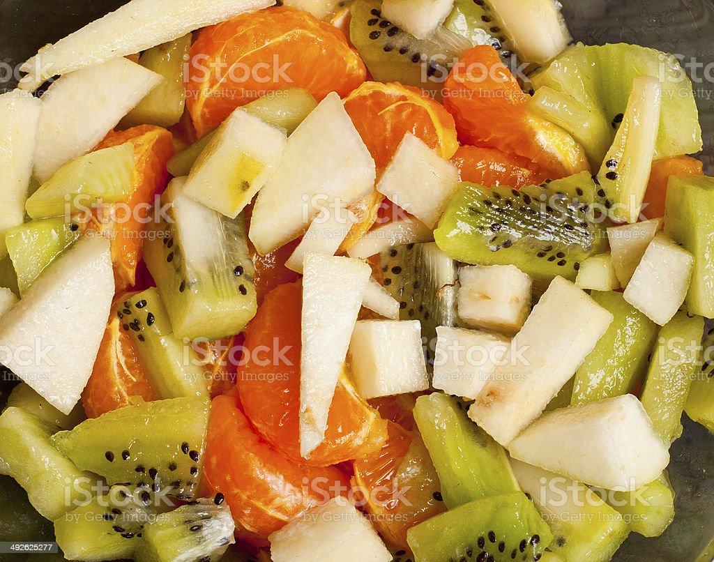 Ensalada de frutas foto de stock libre de derechos