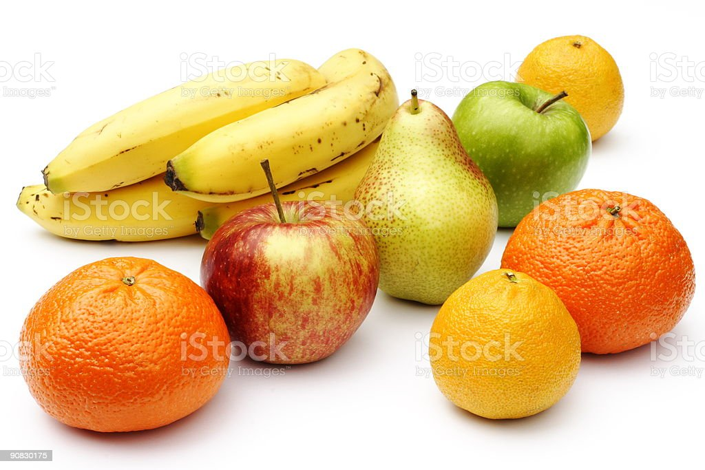 Fruit selection stock photo