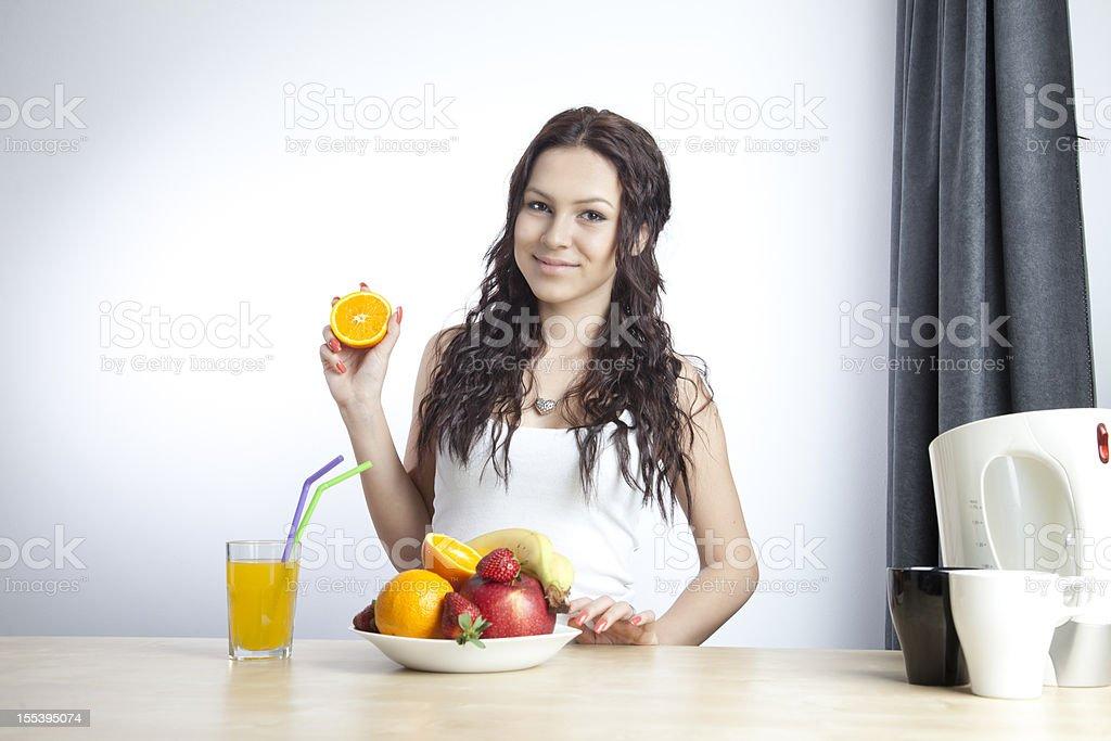 Fruit series royalty-free stock photo