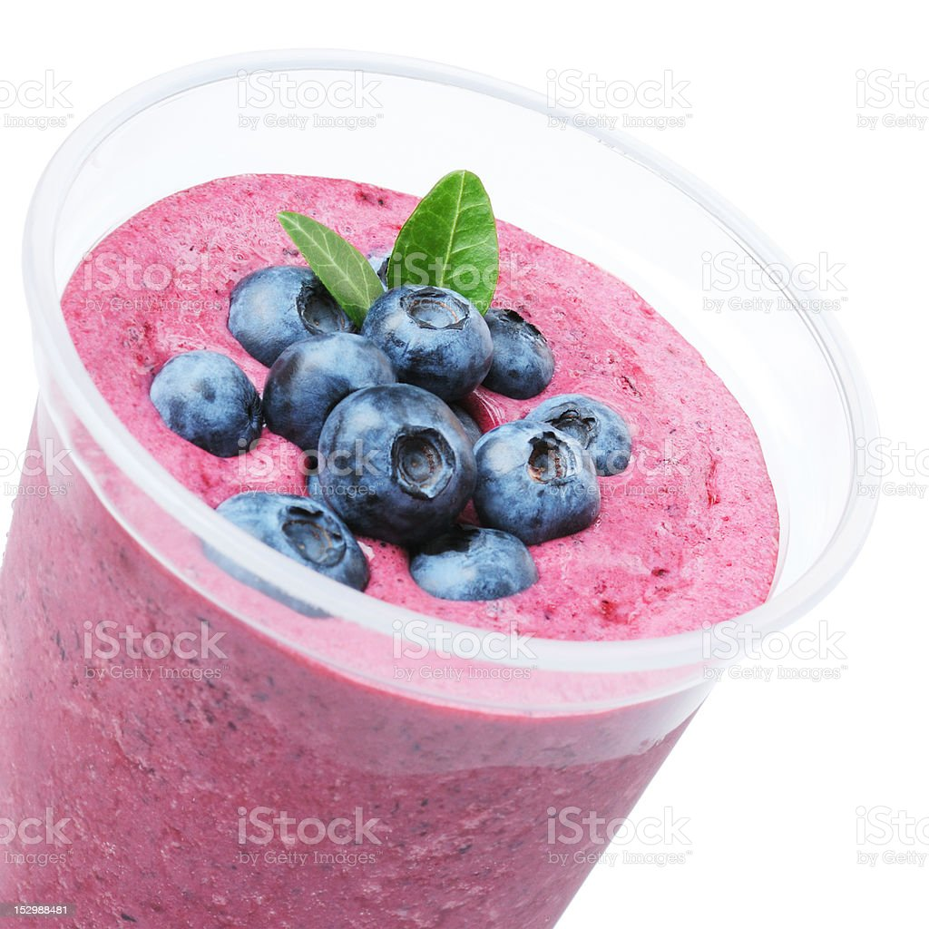 Fruit Smoothie Close Up stock photo
