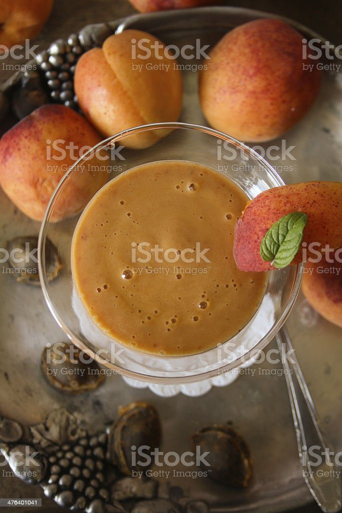 Fruit smoothie drink royalty-free stock photo