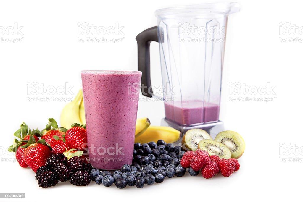 Fruit smoothie royalty-free stock photo