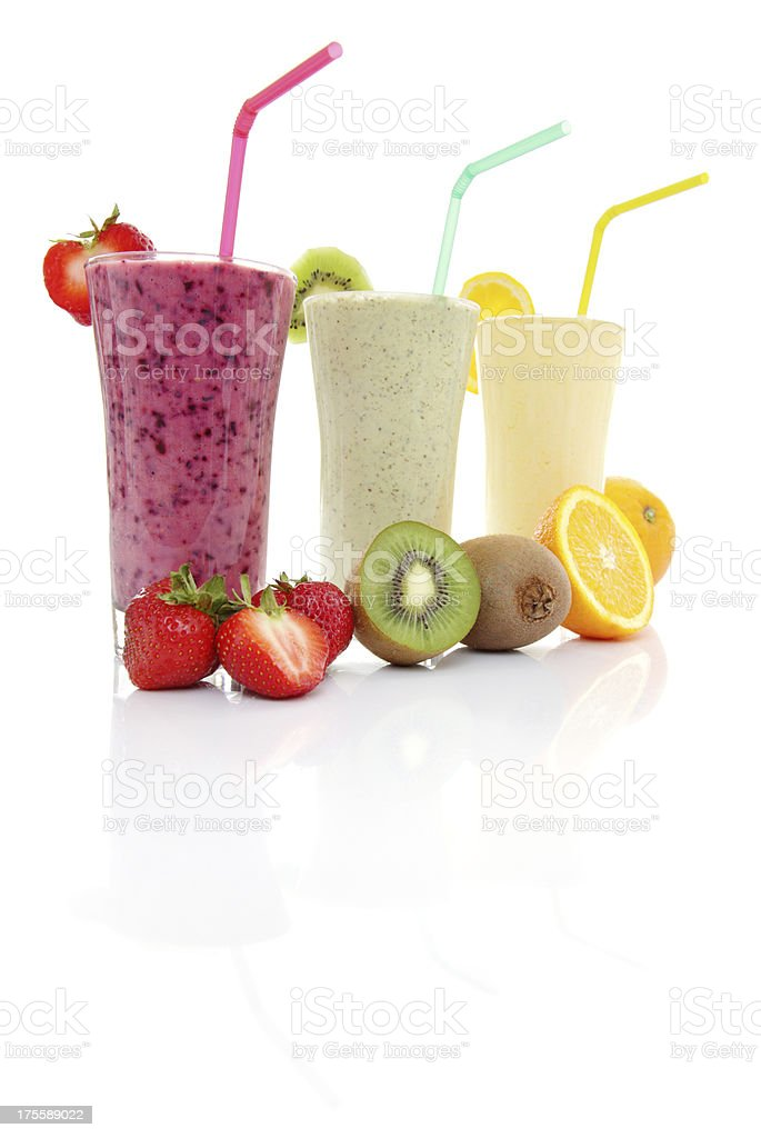 Fruits Smoothies royalty-free stock photo
