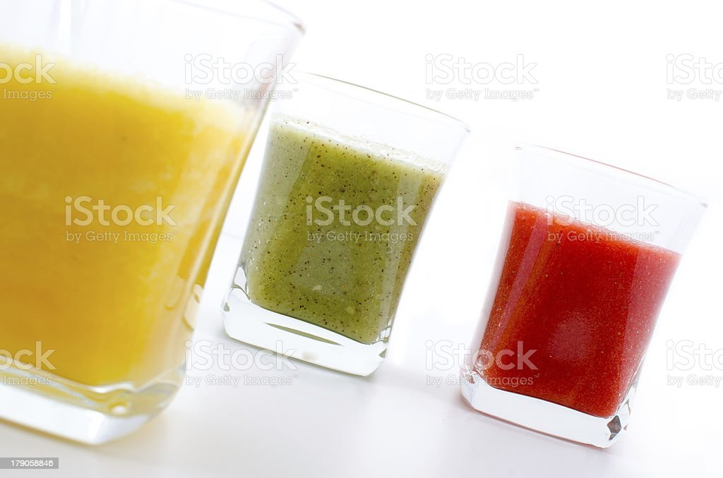 Fruit smoothies royalty-free stock photo