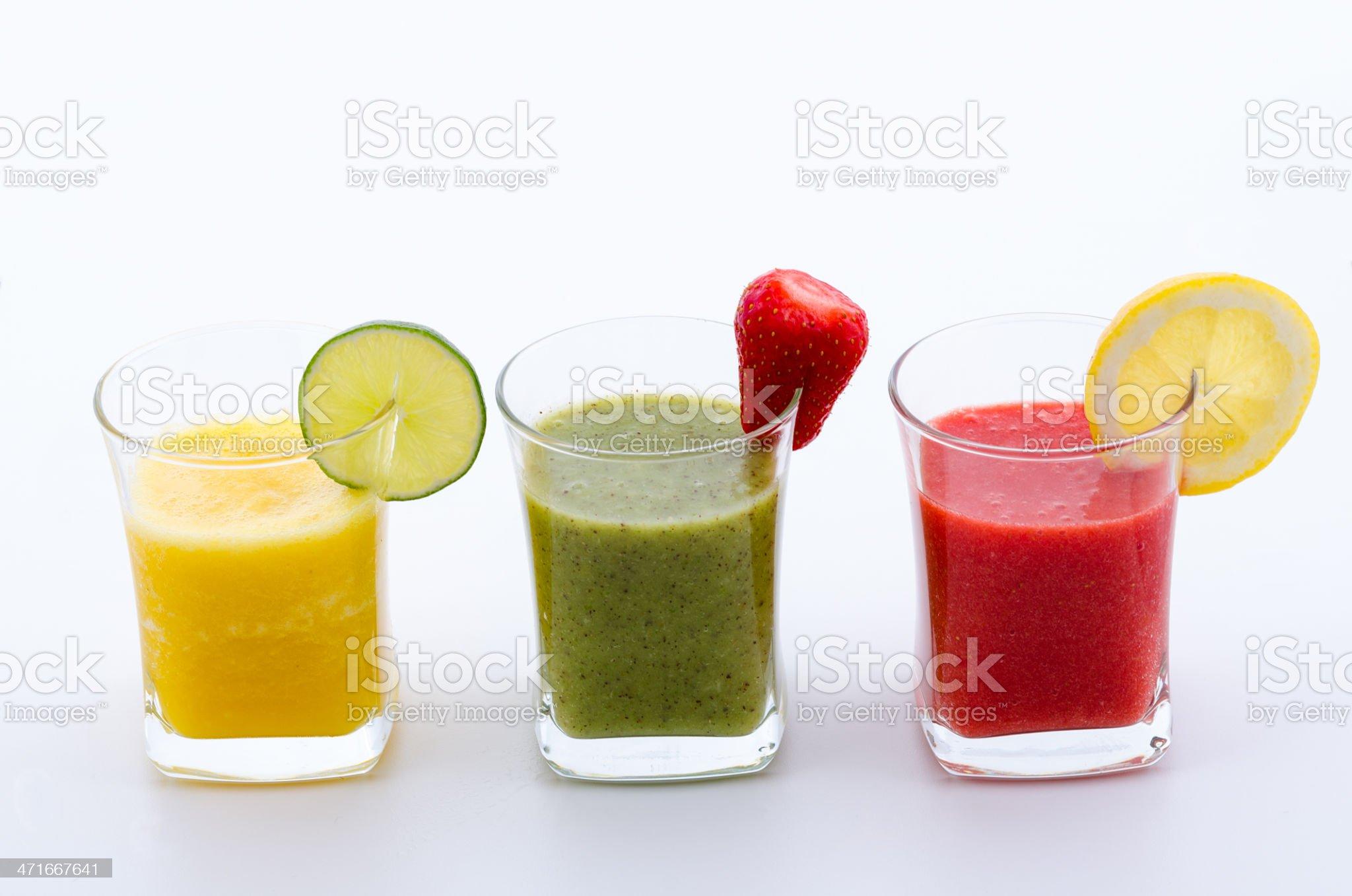 Fruit smoothies royalty-free stock photo