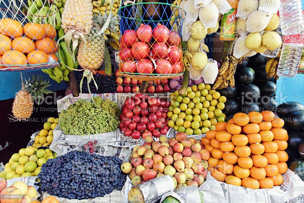 Fruit stall royalty-free stock photo