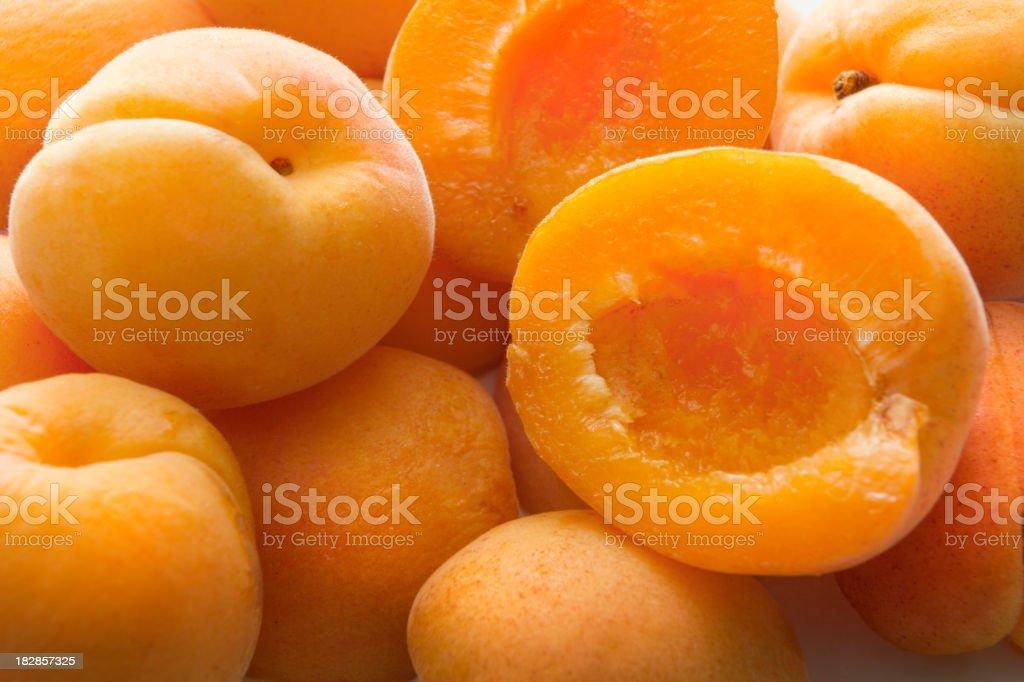 Fruit Stills: Apricots royalty-free stock photo