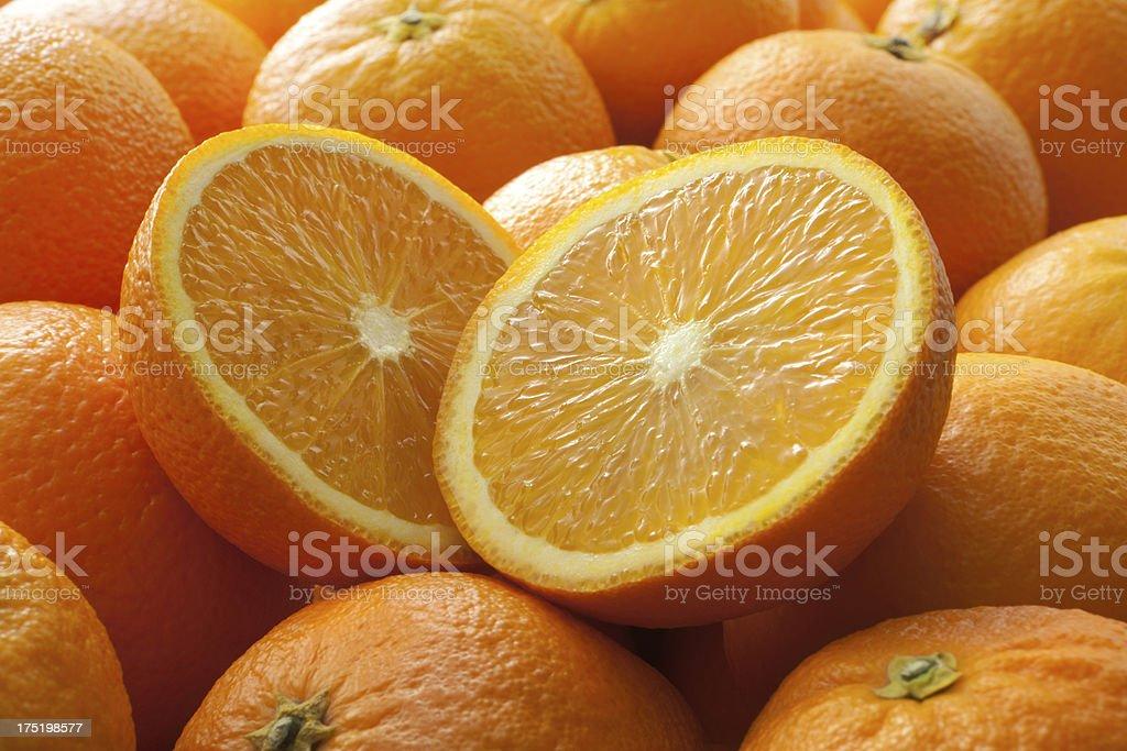 Fruit Stills: Orange stock photo