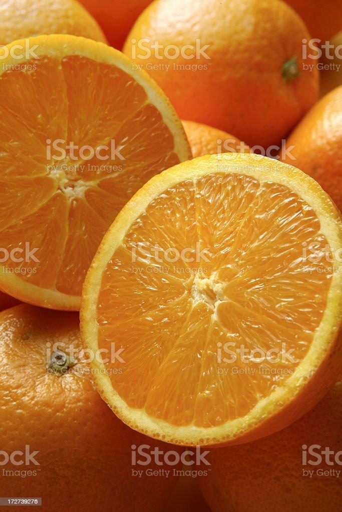 Fruit Stills: Oranges royalty-free stock photo