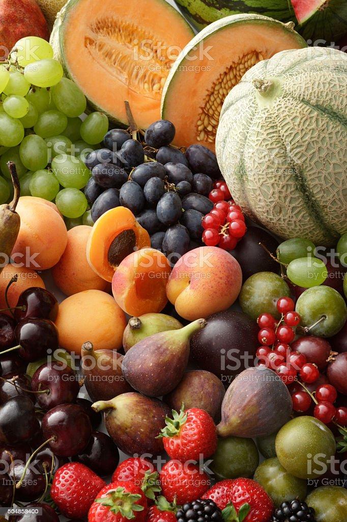 Fruit Stills: Summer Fruit Collection stock photo