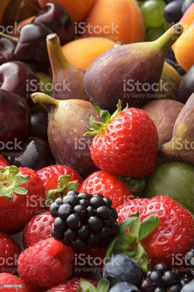 Fruit Stills: Summer Fruit Collection Still Life stock photo
