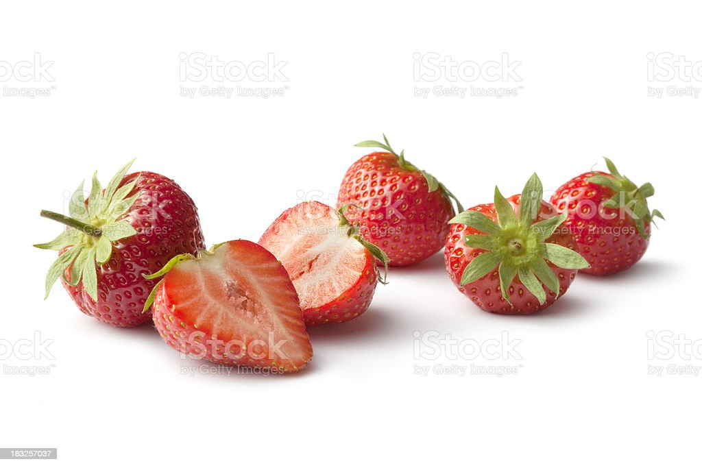 Fruit: Strawberry stock photo