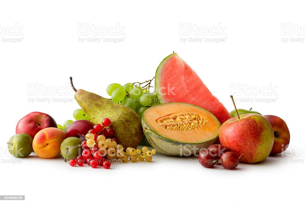 Fruit: Summer Fruit stock photo