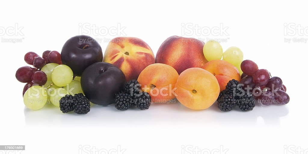 Fruit - summer fruits. royalty-free stock photo