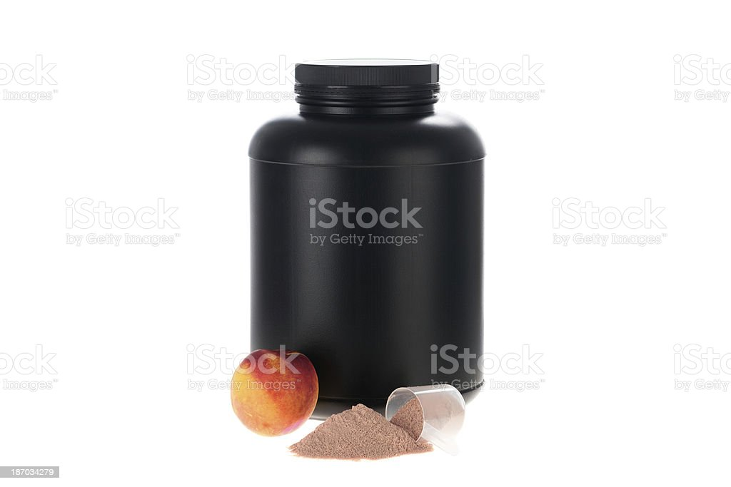 Fruit supplements stock photo