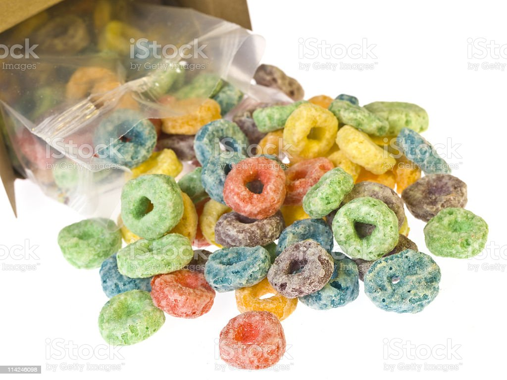 Fruit Sweet Cereal royalty-free stock photo