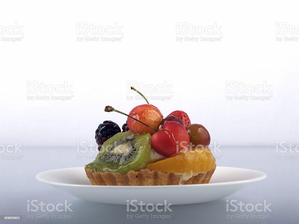 Fruit Tart - 2 royalty-free stock photo