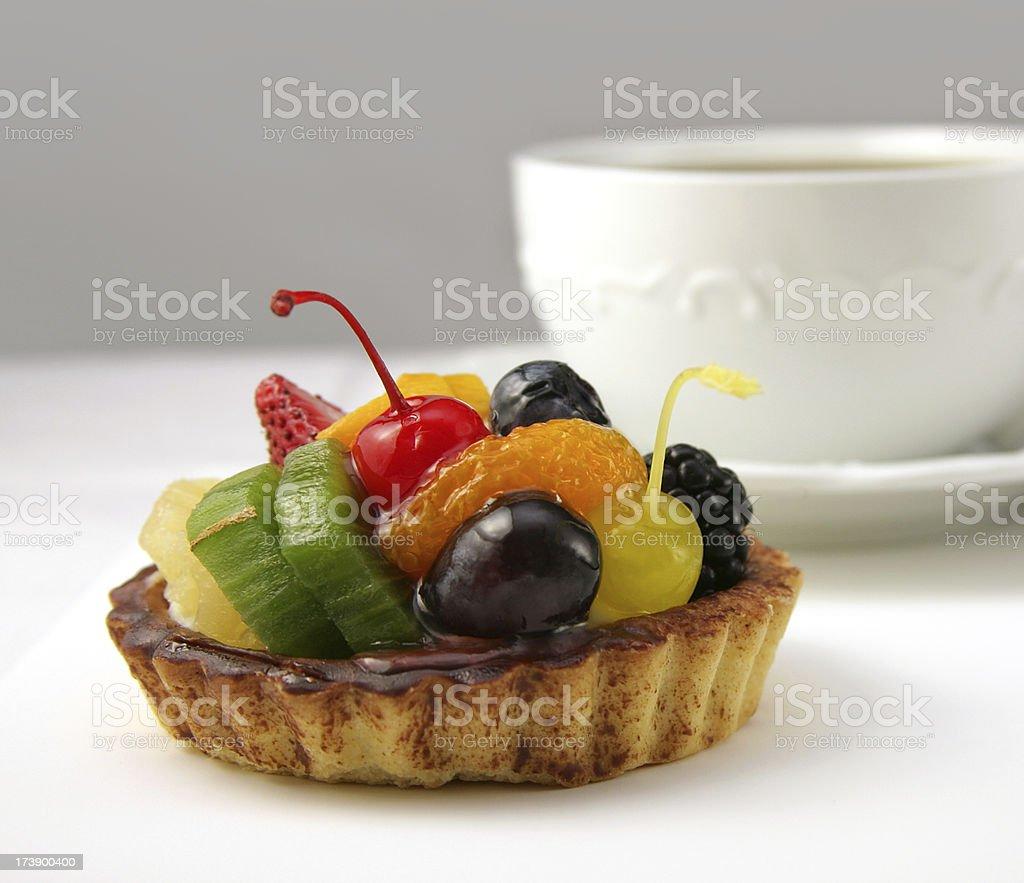 fruit tart dessert royalty-free stock photo