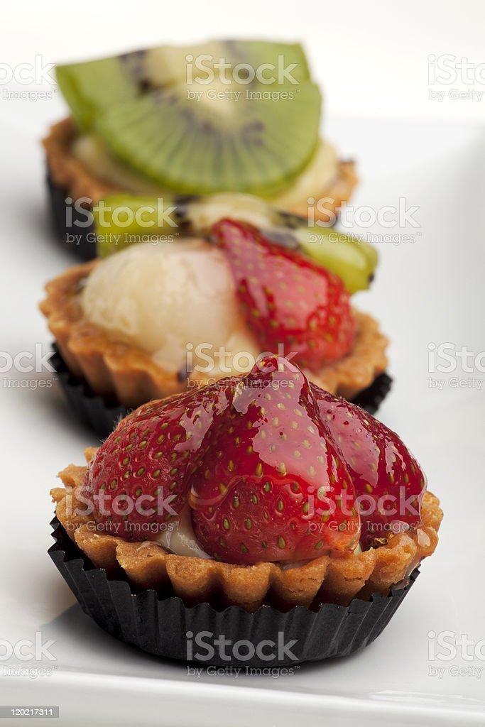Fruit Tarts royalty-free stock photo