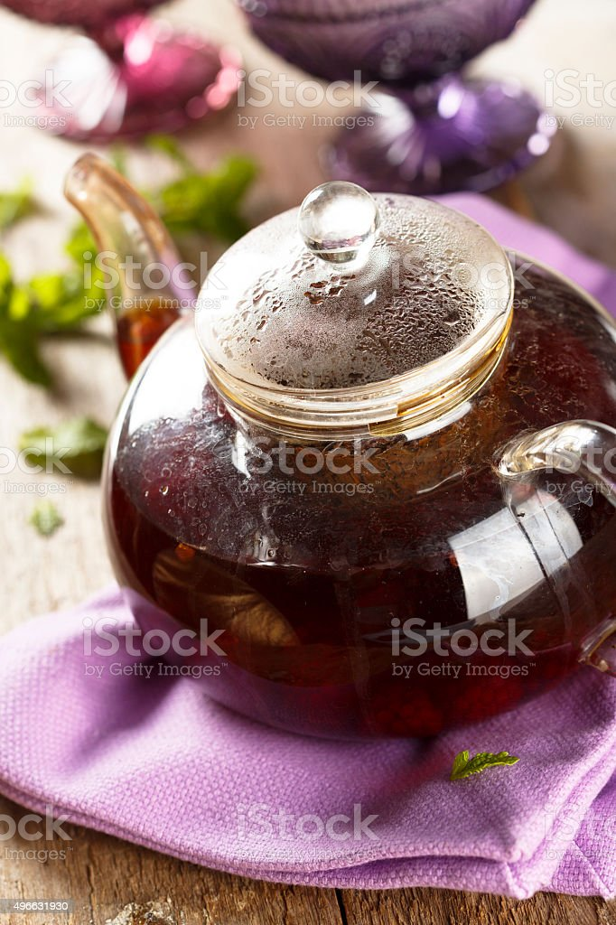 Fruit tea stock photo