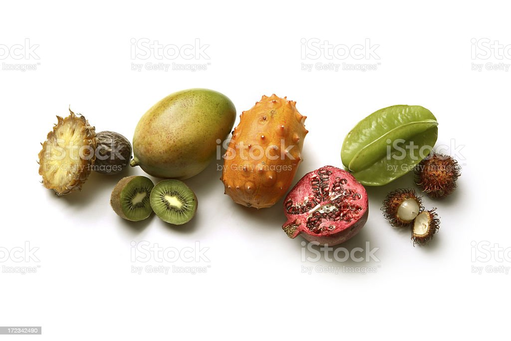Fruit: Tropical Collection royalty-free stock photo