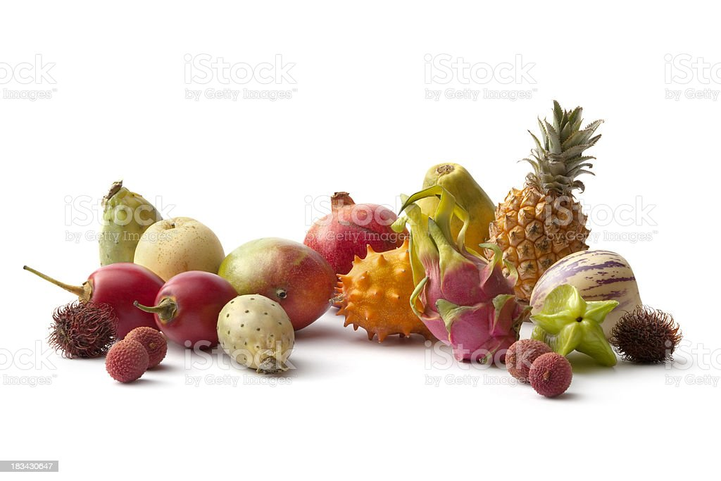 Fruit: Tropical Collection stock photo
