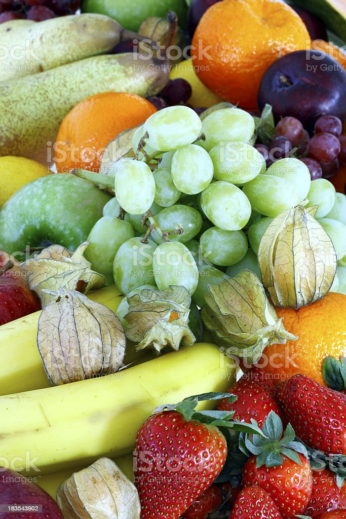 Fruit Variation Background royalty-free stock photo
