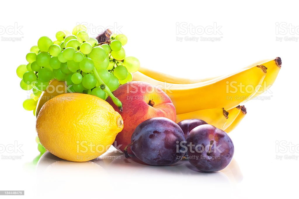 Fruit vitamin dial-up stock photo