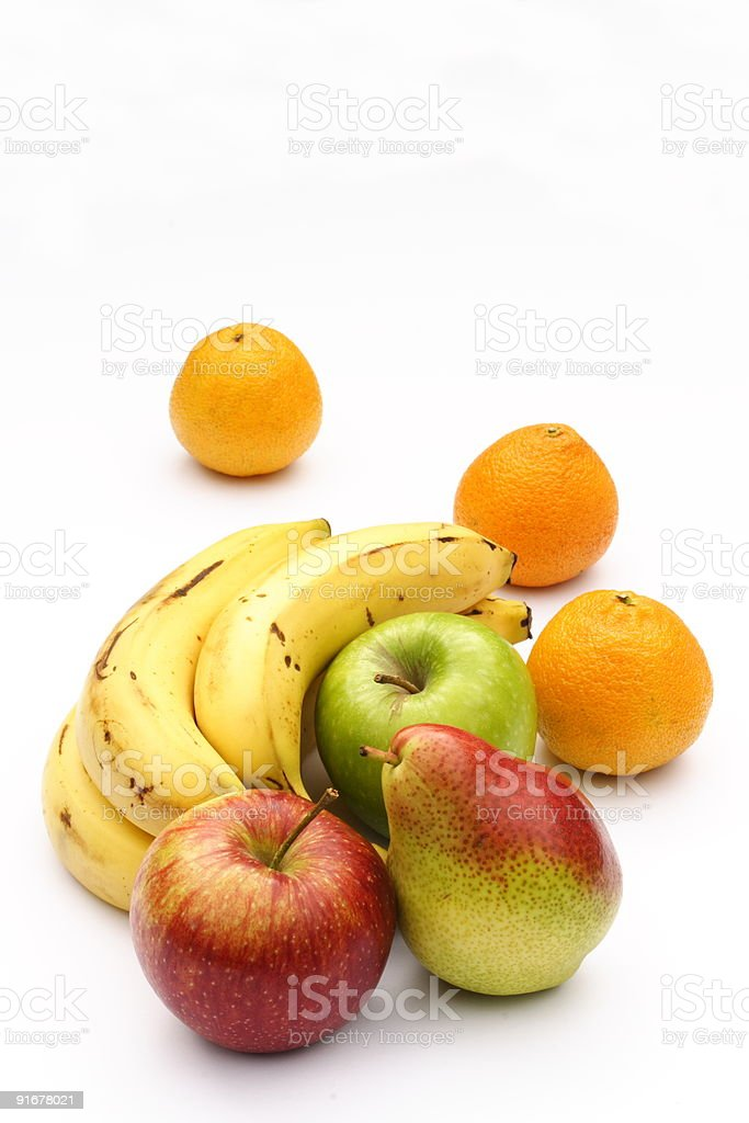 Fruit with copy space stock photo