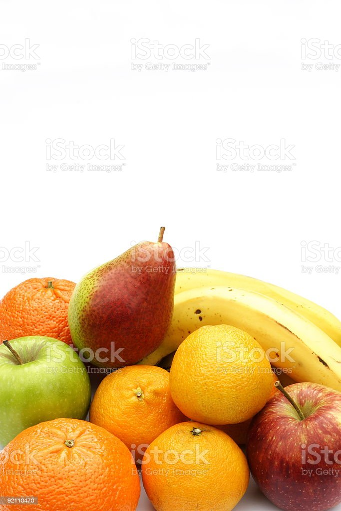 Fruit with copy space royalty-free stock photo