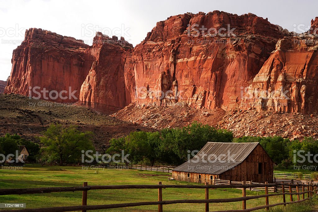 Fruita Farm stock photo