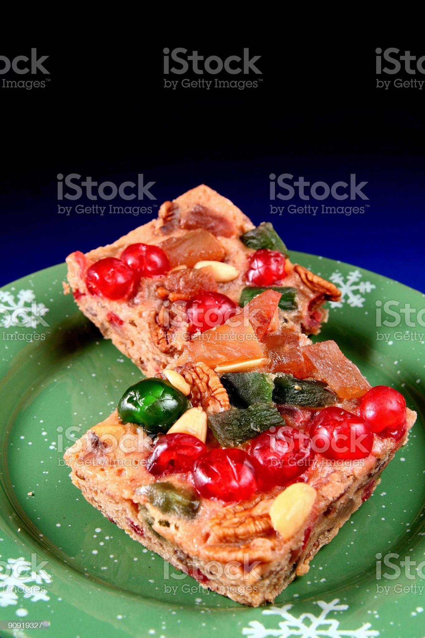 Fruitcake the Holiday Tradition royalty-free stock photo