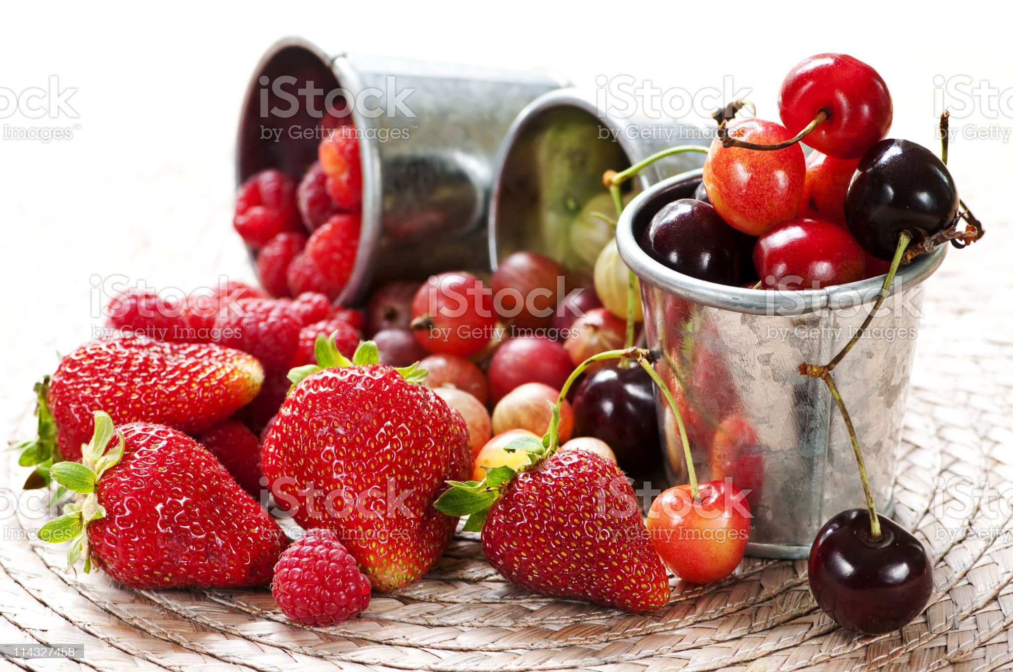 Fruits and berries royalty-free stock photo